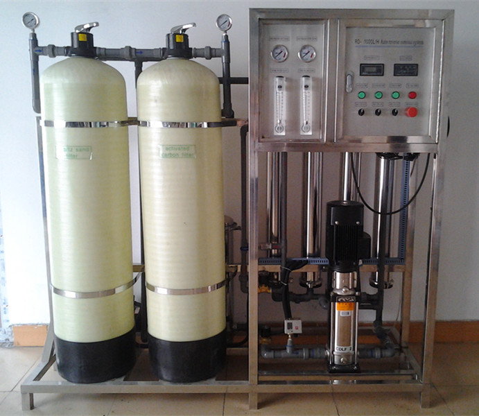 water treatment plant capacity 1000lph - Commercial Water Filtration System